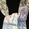 Soft blue scarf