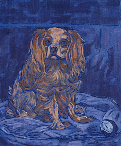 Artist's Pet (Ingenuous)  Source: A King Charles Spaniel, Edouard Manet,18 66
