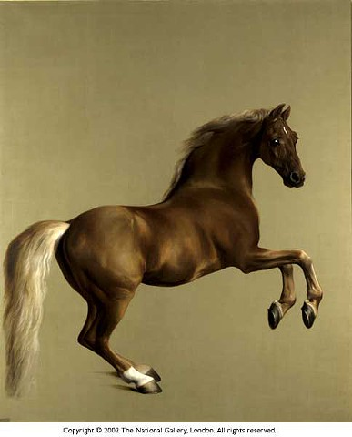 George Stubbs, Whisteljacket, 1762, National Gallery of London, England