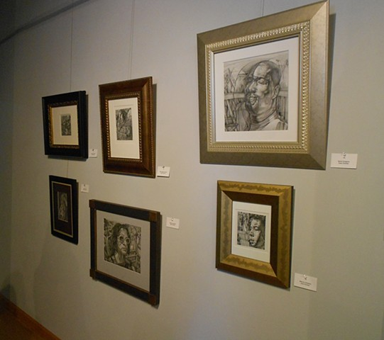 "Plasmando La Alma "" Forging the Soul"" Exhibition at The Abud Family Foundation New Jersey 2012."