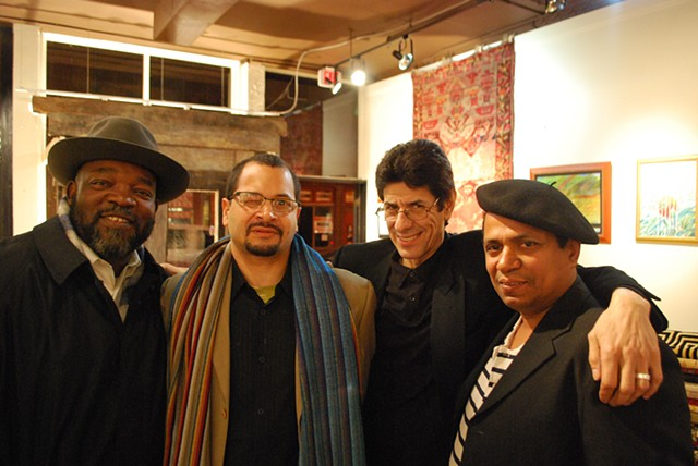 Artists: George Eshun, Juan Gomez, Alberto Becerra and Pedro Fuller: International Excursions Exhibit in Philadelphia, 2011
