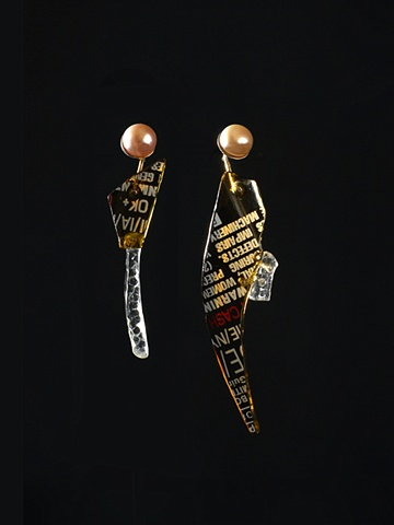 Beer Bottle Earrings