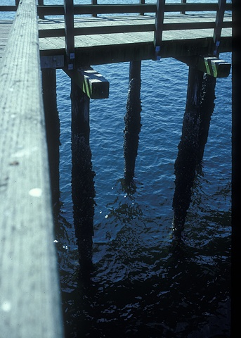 End of pier (site of drop) 2006