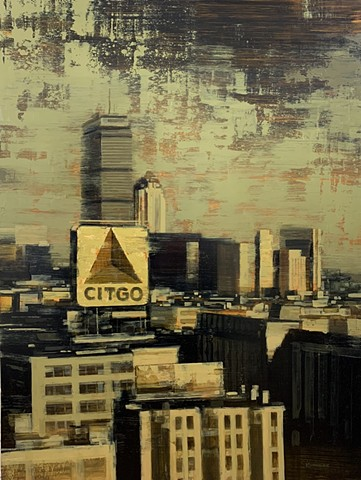 Boston Citgo Skyline