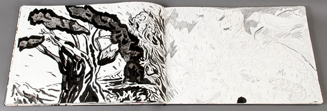 Sketchbook pages
