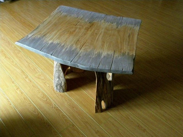 Weathered Slab Table