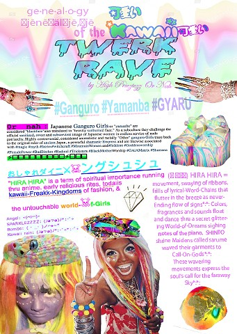 Ge·ne·al·o·gy of The Kawaii Twerk Rave