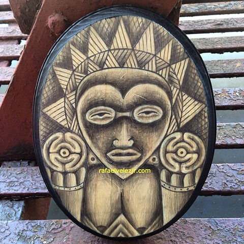 Atabey, one of the main deities of Taino culture in the Caribbean.