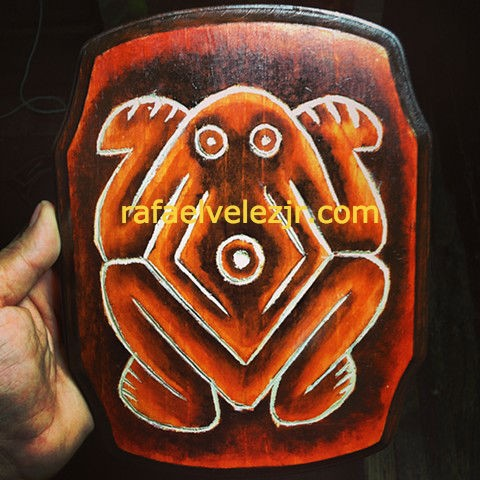 Taino Frog (SOLD)