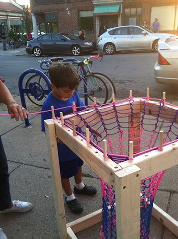 "First Friday ""Craft Art Field Day"" event in Allentown Neighborhood, Buffalo, NY.  (August 2015)"