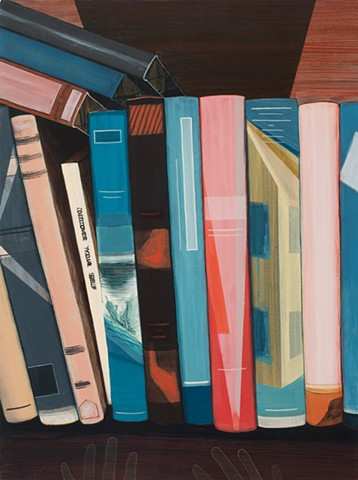 painting, books, art, jordan buschur