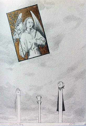Sketch 4 Cloudy Sky
