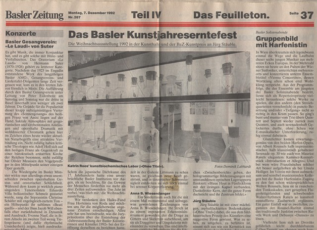 Basler Zeitung (newspaper of Basel)