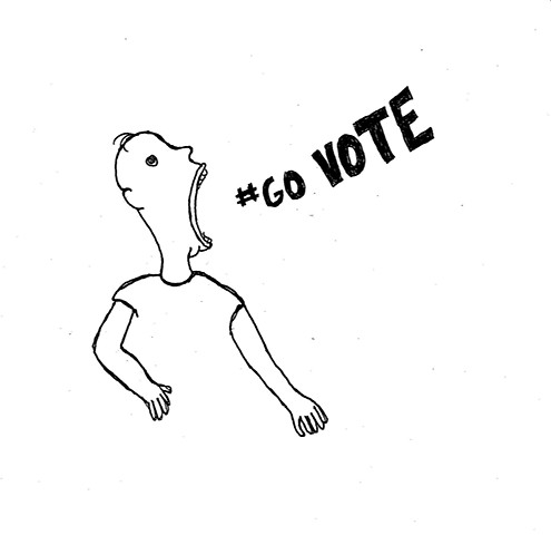 my submission for the 2012 #GoVote campaign