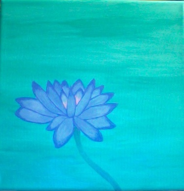 The Lotus - comissioned piece (SOLD)