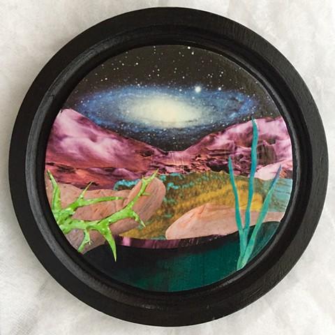 Otherworldy Landscapes Series. Galaxy
