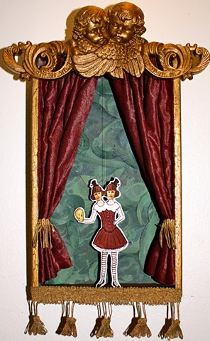 Actual Working Vaudeville Puppet Theatre