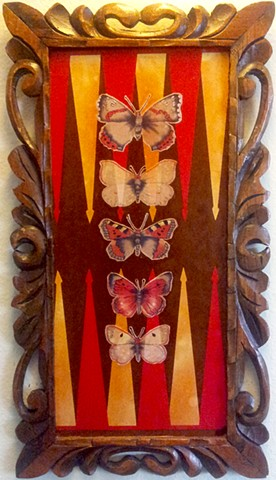 Backgammon Butterfly