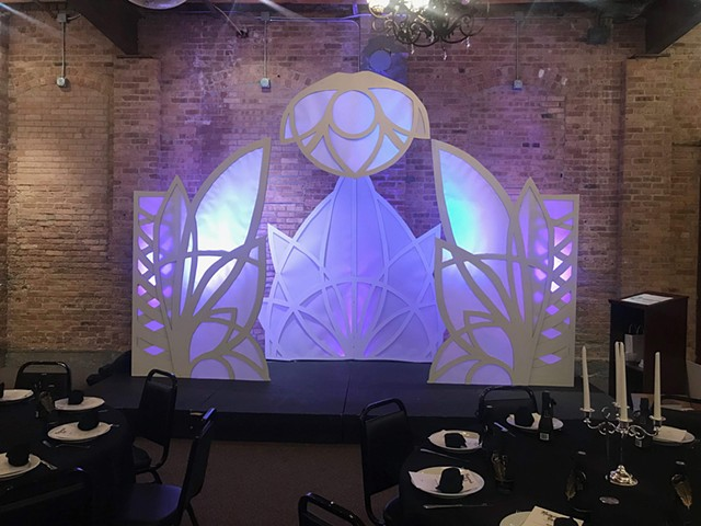 Boys and Girls club gala backdrop