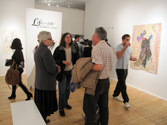 "Life After Life"" Reception, October, 18th, 6pm to 8pm."