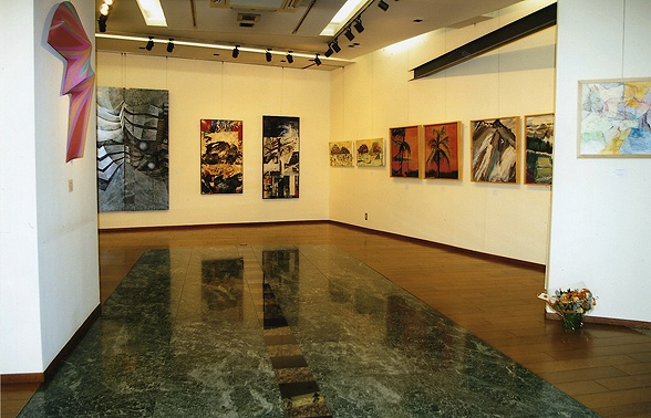 """Viridian Artists: New York and Tokyo"" Exhibition Oct.-Nov. 2010."