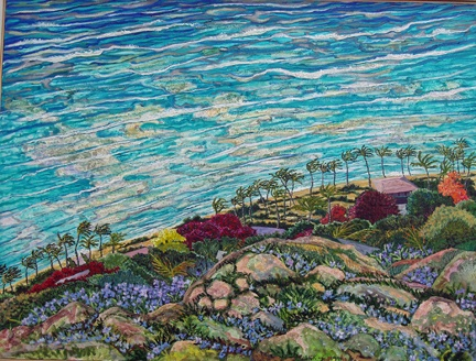 """View of Reefs from Diamond Head"""