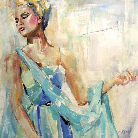 What If ~ a Grace Kelly Painting