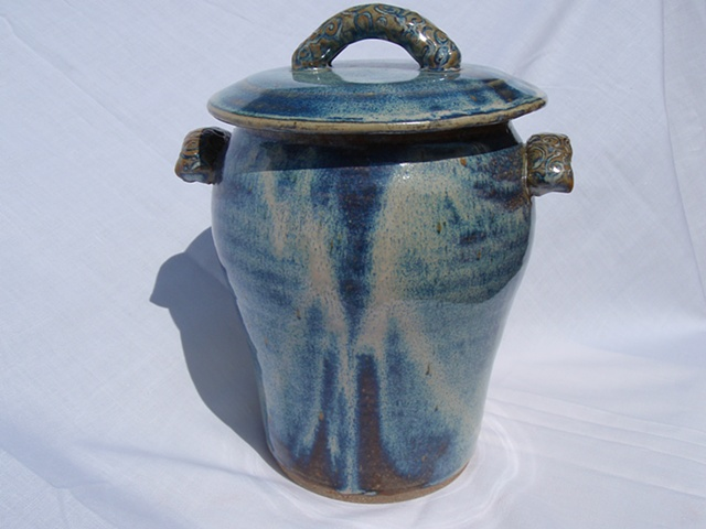 Blue Cookie Jar