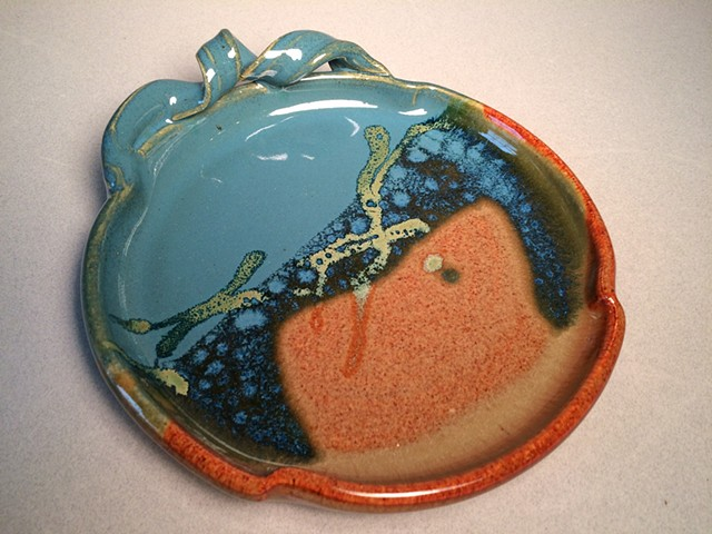 Brie Baker, cheese tray, serving plate, housewarming gift, handmade pottery
