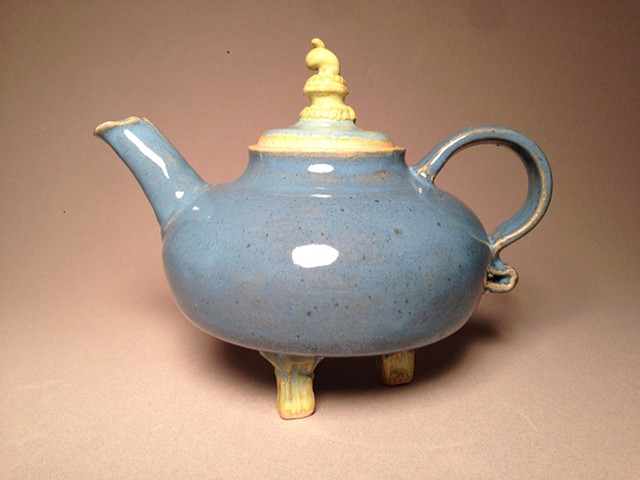 This little teapot is perfect for display as well as your favorite teas