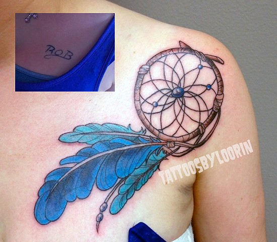dreamcatcher coverup