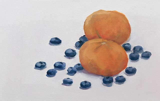 Clementines and Blueberries