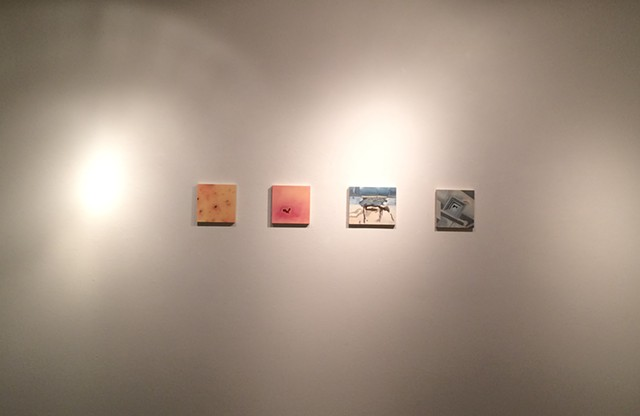 with(in)between, installed at Gallery 110