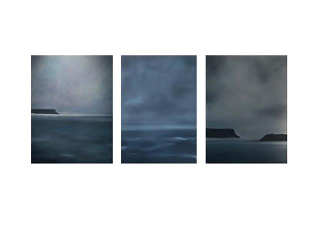 Sydney Harbor (triptych)