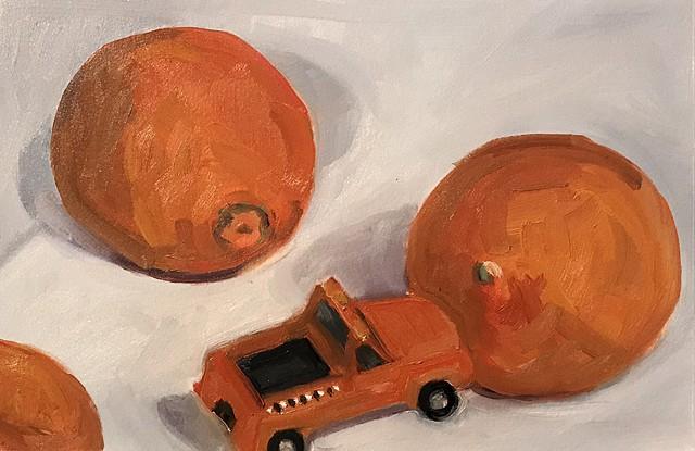 Sisyphusian Truck/Orange