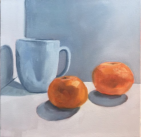 Mug and Clementines