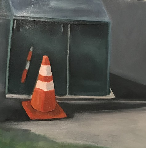 Cone and Electrical Box