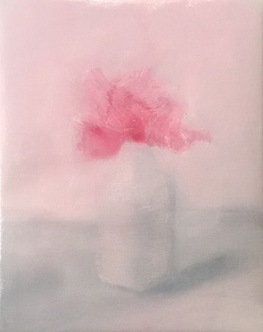 (Un) Still Life 11 (fading pink flowers)