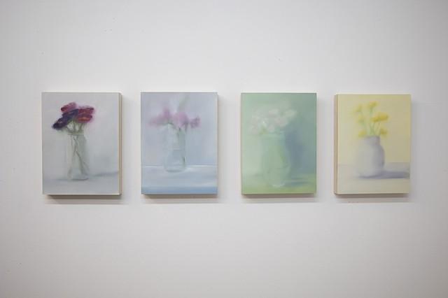 Stilling Life (4 paintings)