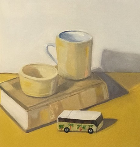 Escapist Fantasy in Yellow: Coffee, Snacks, a Good Book and a Camper Van
