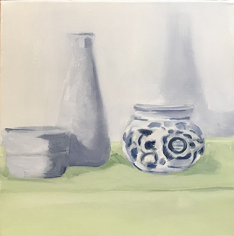 Pottery (Blue & White Bowl)