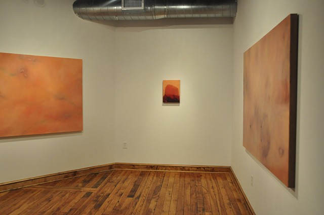 (im)permeable Installed in the Elizabeth A. Beland Gallery at Essex Art Center
