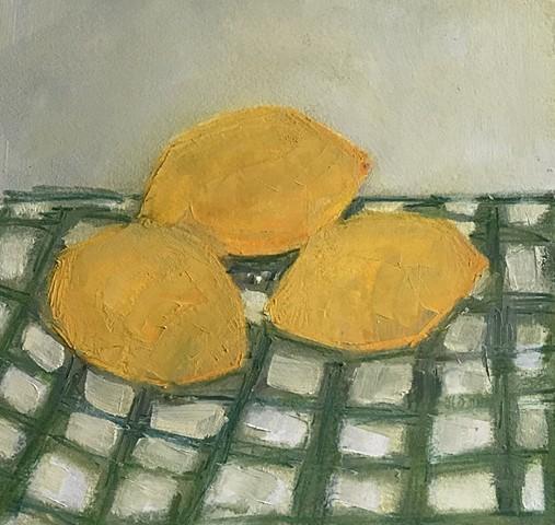 Lemons on Cloth