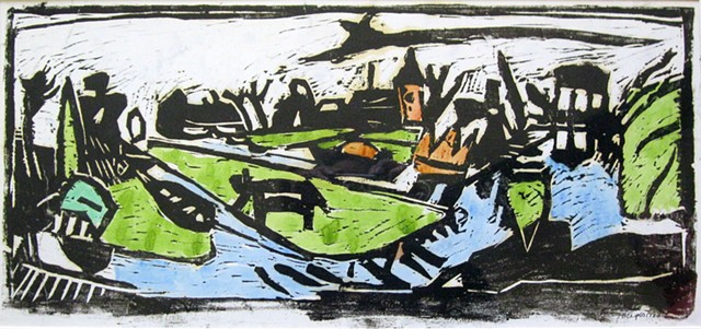 Holland, Woodcut
