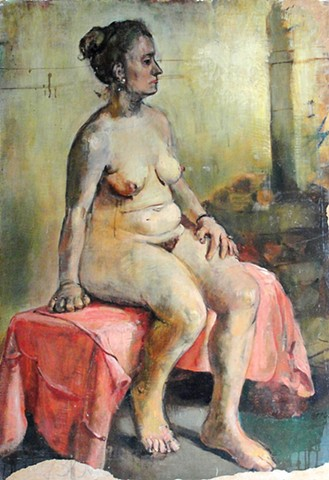 Seated Nude, !946-1949