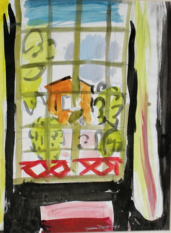 Interiopr, Window, 1991