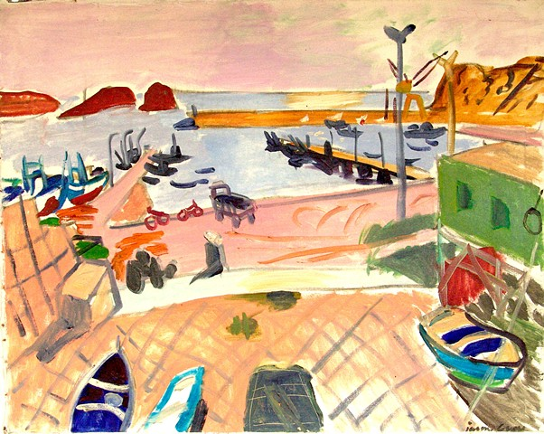 Harbor at Sagres, 1984