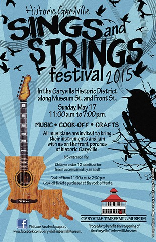 2015 Sings and Strings Poster
