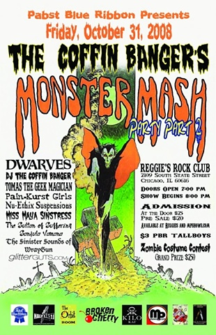 Coffin Banger's Monster Mash Party Part 2