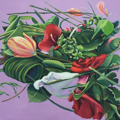 flowers, landscape, floralart, dutchpainting, californiaart, oilpainting, stilllife